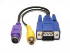 VGA till S-Video/RCA adapter