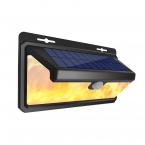 Väggmonterad solcellslampa för utomhusbruk