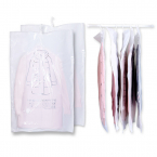 Vakuumpåse för kläder och sängkläder med upphängning, 110x70cm