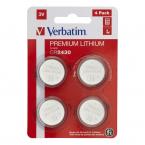 Verbatim CR2430 3V litiumbatterier, 4-pack
