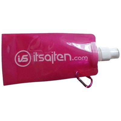 Vik‑ och frysbar vattenflaska, rosa