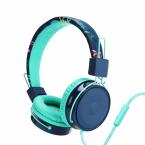 Vikbara barnhörlurar med inbyggd mikrofon, On Ear, 85dB