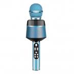 Ridecle Trådlös Bluetooth-mikrofon för mobiler, blå