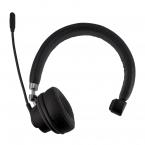 Trådlöst kontorshörlurar med mikrofon, Bluetooth 5.0, 400mAh