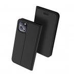 DUX DUCIS Skin Pro läderfodral till iPhone 11 Pro Max, svart