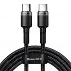 Baseus Cafule PD2.0 USB-C till USB-C kabel (20V 5A), 100W, 2m