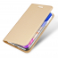 DUX DUCIS Skin Pro Series läderfodral till iPhone 11, guld
