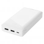 DELTACO Powerbank med 2x USB-A, 20 000mAh, 10.5W