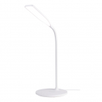 DELTACO Office LED bordslampa med trådlös laddare, 10W, 360lm