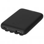 DELTACO Powerbank med både USB-A och USB-C, PD, 5000mAh, 10W
