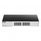 D-Link GO-SW-16G Gigabit Easy nätverksswitch, 16-port