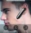 In‑Ear trådlös headset med mikrofon och brusreducering, svart