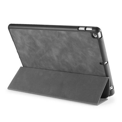 DG.MING Retro Style fodral till iPad 10.2 (2019‑2020), grå