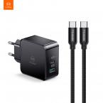 McDodo CH-6923 Laddare med PD+QC med USB-C kabel, EU, 30W, 3A