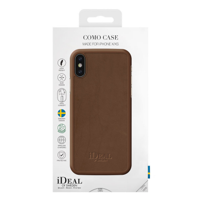 iDeal Como Case magnetskal iPhone X/XS, brun