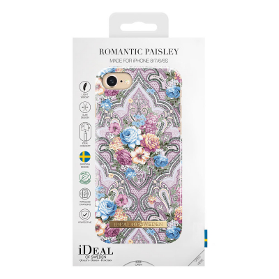 iDeal Fashion Case magnetskal iPhone 8/7/6, Romantic Paisley