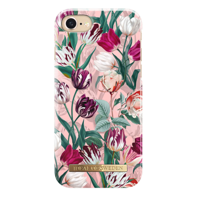 iDeal Fashion Case magnetskal iPhone 8/7/6, Vintage Tulips