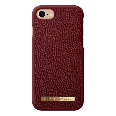 iDeal Fashion Case skal till iPhone 8/7/6/6S, Burgundy