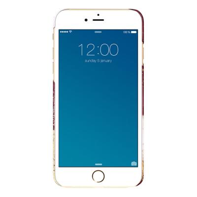 iDeal Fashion Case, iPhone 8/76/6S Plus, Golden Burgundy