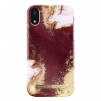 iDeal Fashion Case, iPhone XR, Golden Burgundy