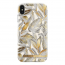 iDeal Fashion Case magnetskaliPhone XS Max, Platinum Leaves