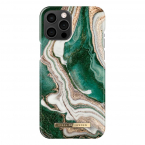iDeal Fashion Case skal, iPhone 12 Pro Max, Golden Jade Marble