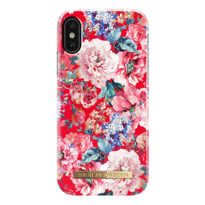 iDeal Fashion Case magnetskal iPhone X/XS, Statement Florals