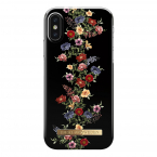 iDeal Fashion Case magnetskal iPhone X/XS, Dark Floral