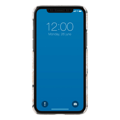 iDeal Fashion Case skal till iPhone 11 Pro/X/XS, Greige Terazzo