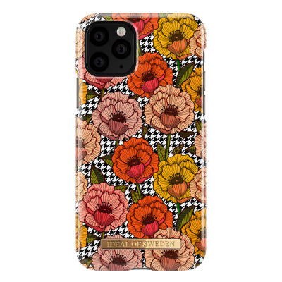 iDeal Fashion Case skal till iPhone 11 Pro/X/XS, Retro Bloom